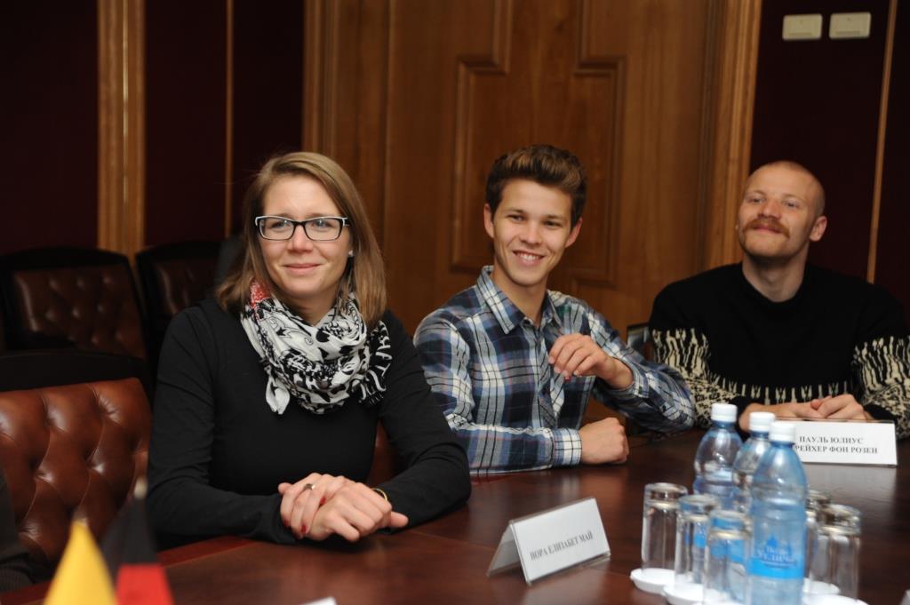 Cтуденты из Германии прибыли в Ярославль для участия в международном фестивале