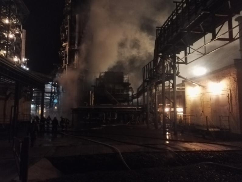 После пожара на НПЗ в Ярославле проведена проверка качества воздуха