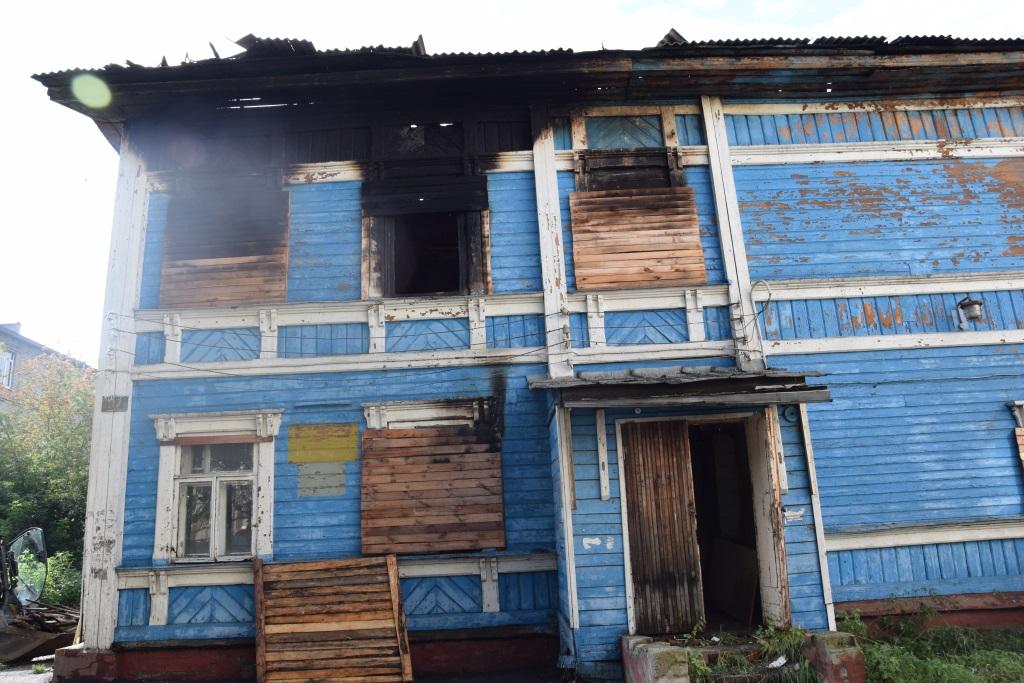 По факту поджога здания бывшей городской больницы в Ярославле возбуждено уголовное дело