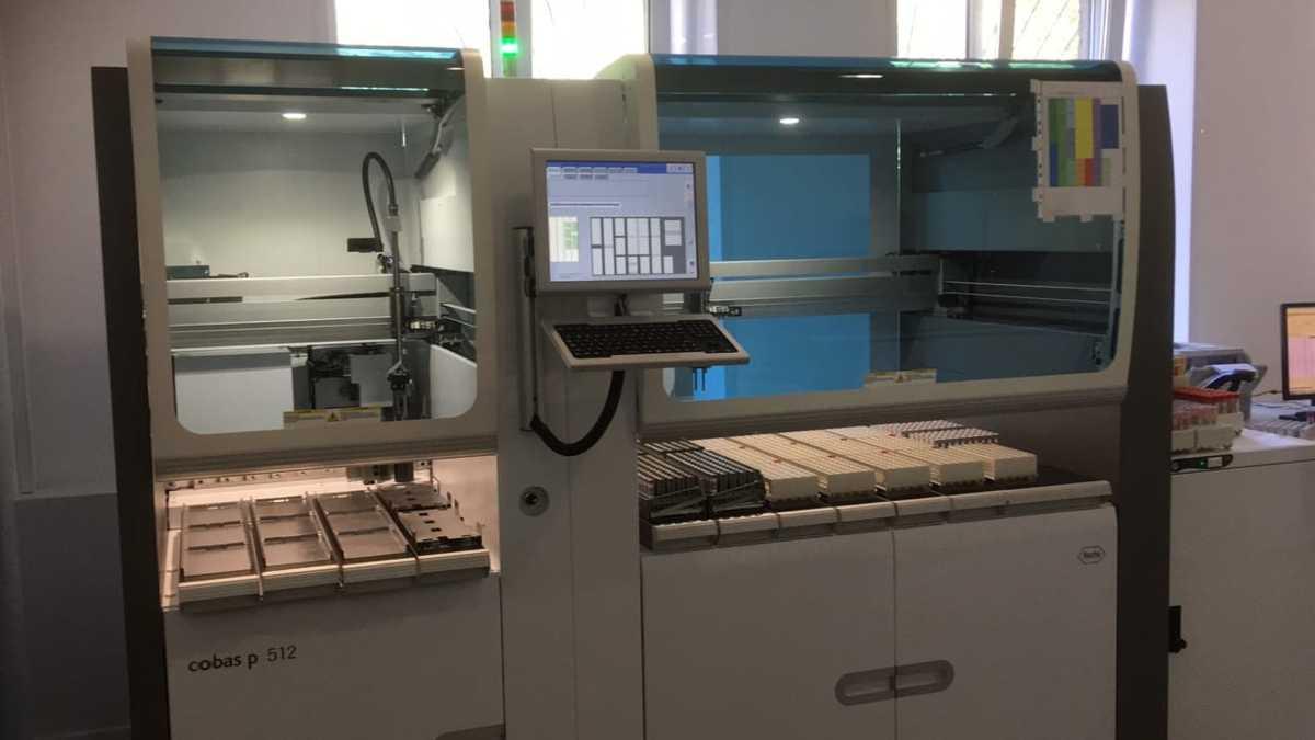 Централизованная лаборатория больницы имени Соловьева единственная в ЦФО получила уникальное оборудование