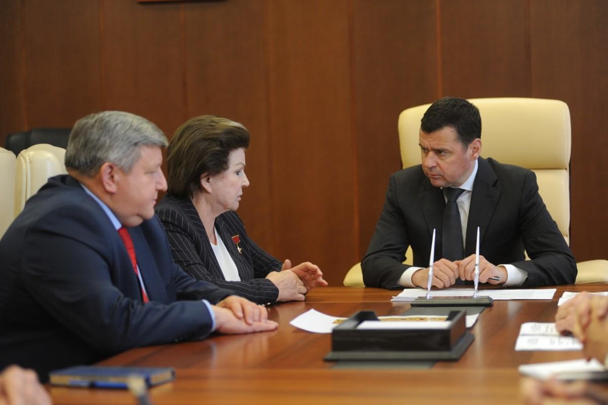 Валентина Терешкова пожертвовала 1 миллион рублей храму в Никульском
