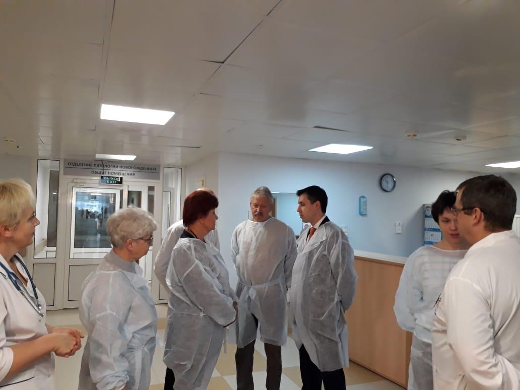 Московские медики отметили высокий уровень квалификации специалистов Ярославского перинатального центра