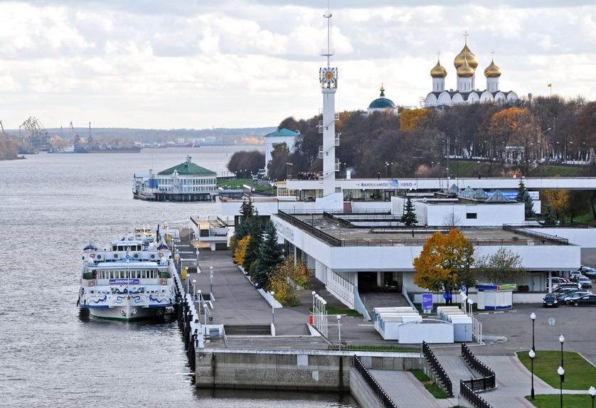 Северный корпус комплекса речного вокзала в Ярославле получил статус памятника архитектуры