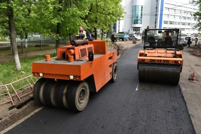 В Ярославской области переделают участок трассы, где асфальт укладывали в дождь