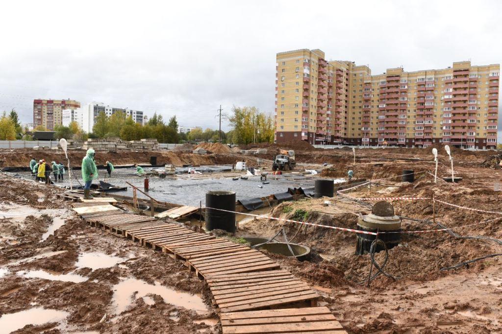 Строительство нового детсада в Брагине завершат в конце следующего года