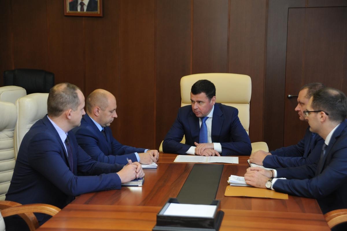 Дмитрий Миронов поставил задачу главе Некоузского районе обеспечить бесперебойное отопление