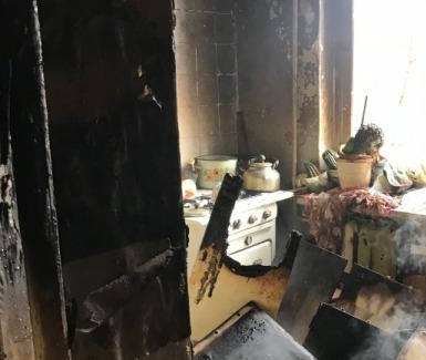 В Рыбинске на пожаре погиб инвалид, который не смог покинуть квартиру
