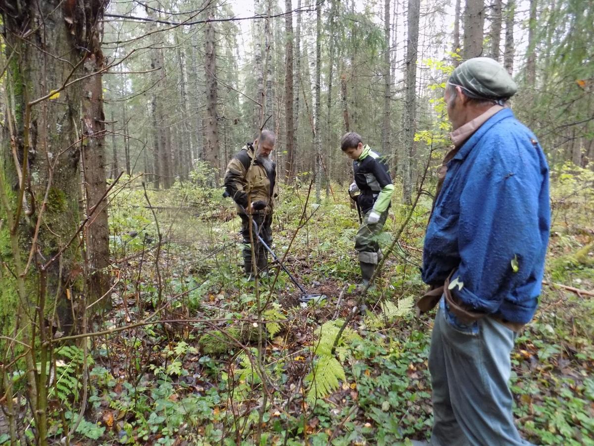 В Ярославской области нашли обломки советского бомбардировщика
