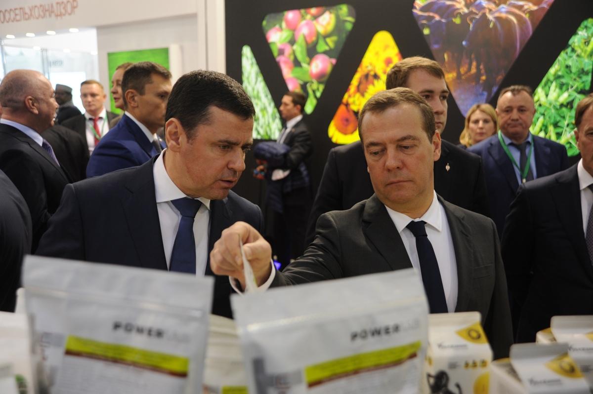 Дмитрий Миронов: стенд Ярославской области на выставке в Москве посетил глава Правительства РФ