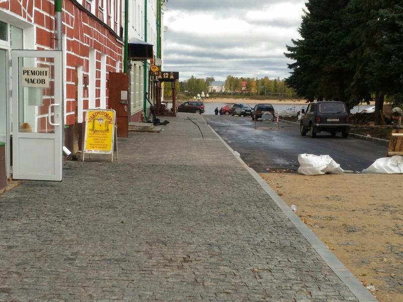К началу ноября в Рыбинске закончат благоустройство улицы Стоялой и бульвара Ушакова
