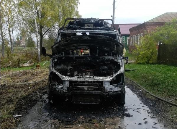 В Ярославской области сгорела скорая