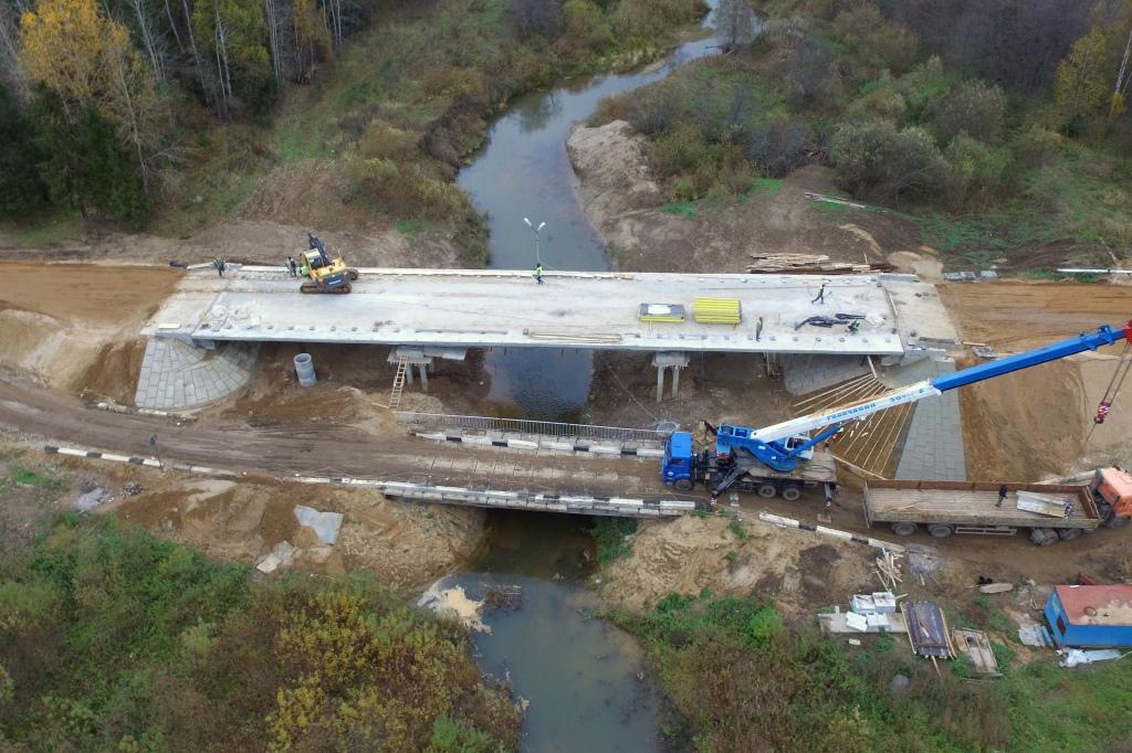 В Ярославской области завершается ремонт еще одного автомобильного моста: фото