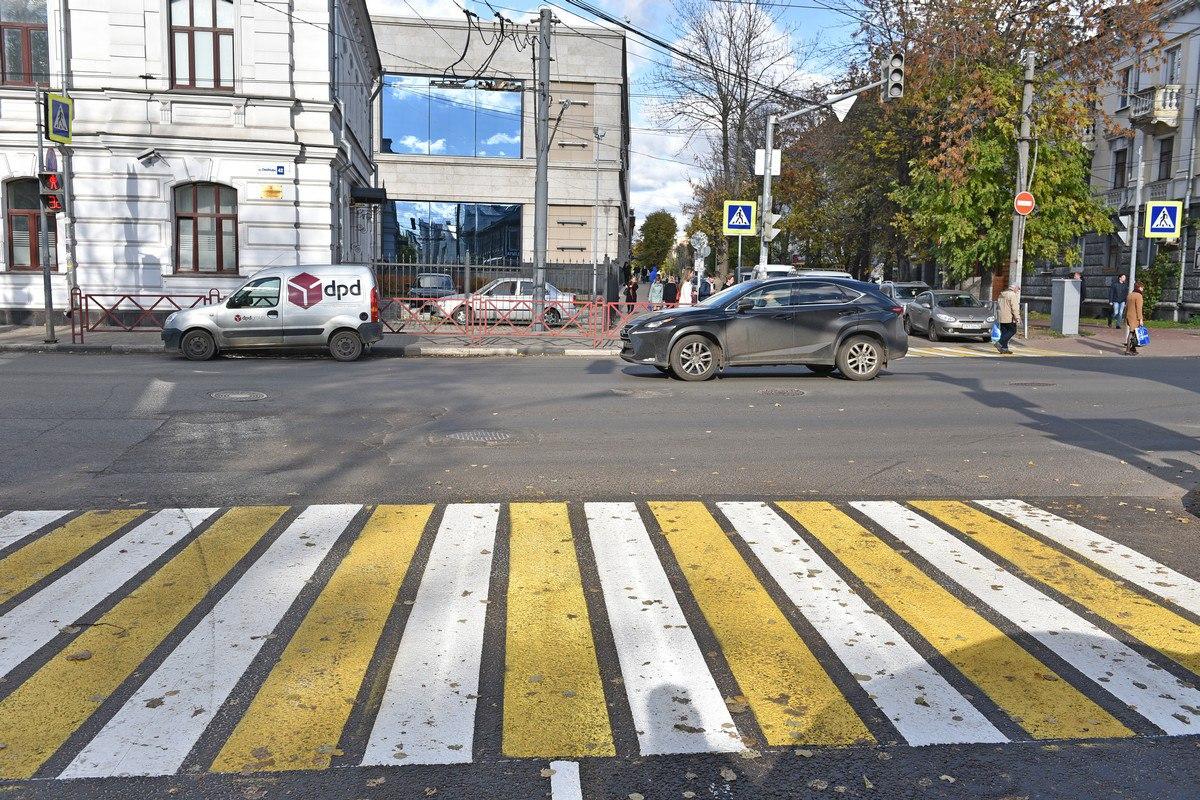 В центре Ярославля появилась новая парковка