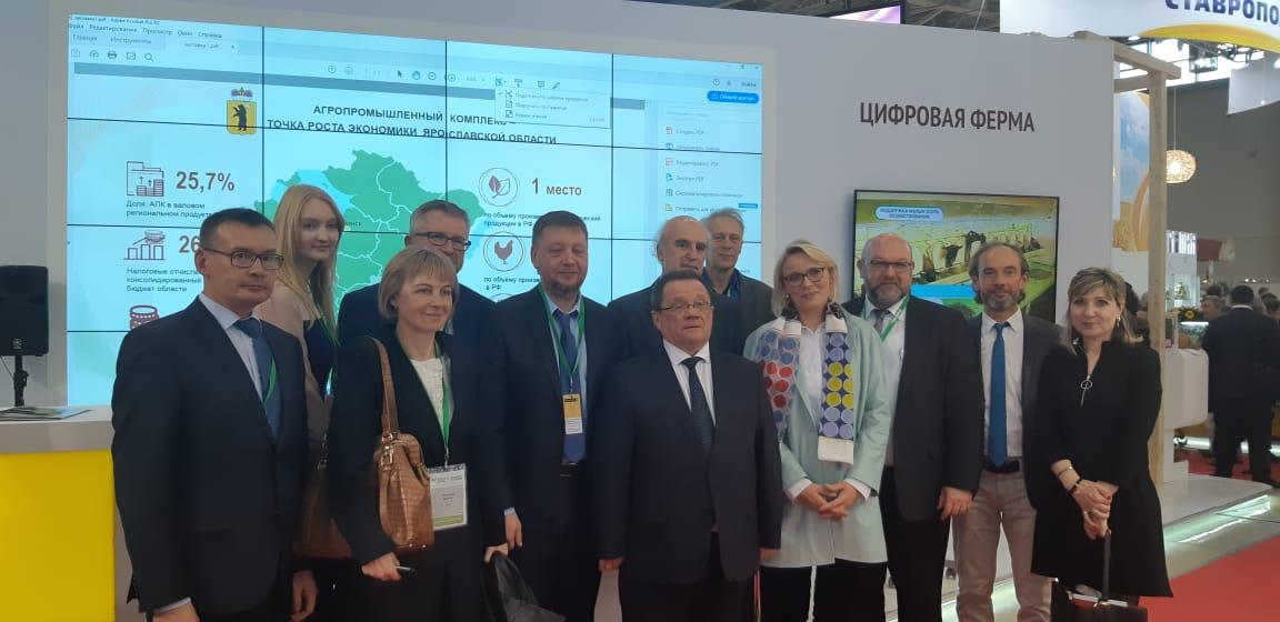 Правительство Ярославской области получило Гран-при за вклад в развитие выставки «Золотая осень»