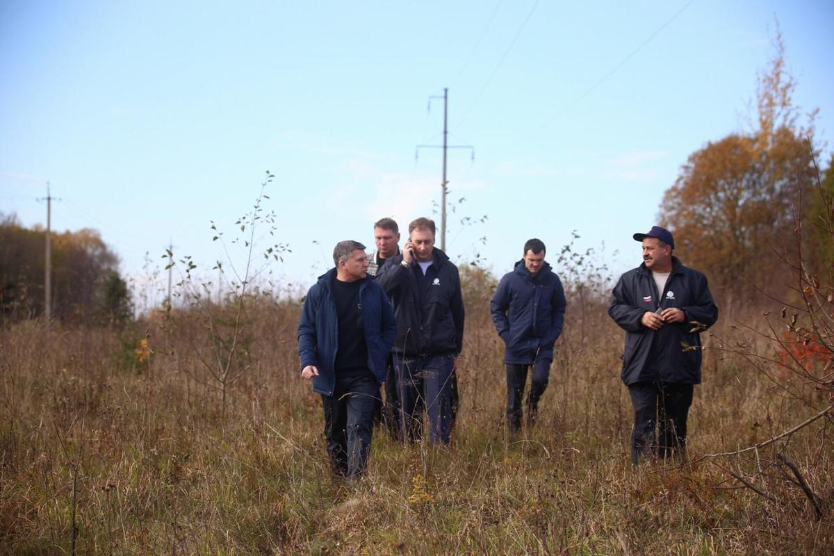 Глава компании МРСК Центра Игорь Маковский проверил темпы работ по расчистке просек воздушных линий в Тверской области