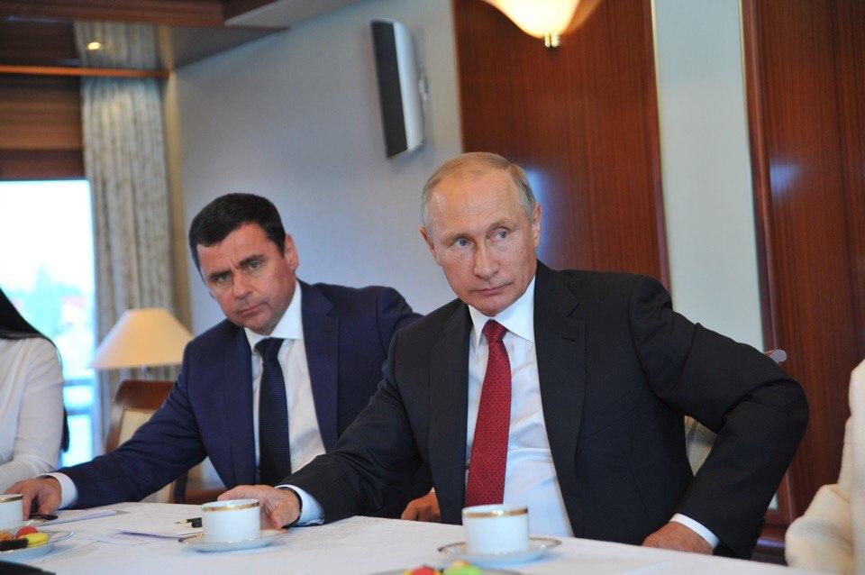 Владимир Путин поздравил Дмитрия Миронова с 50-летием