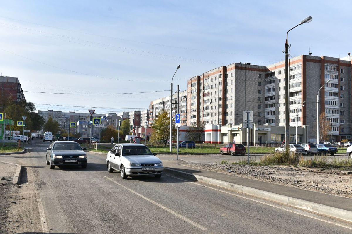 В Дзержинском районе Ярославля сдали улицу после ремонта