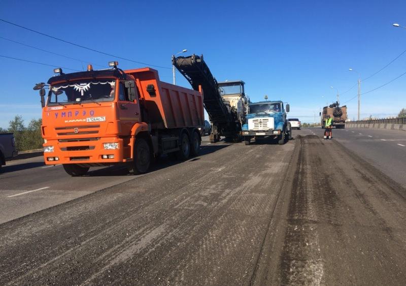 К выходным в Ярославле завершат ремонт Промышленного шоссе