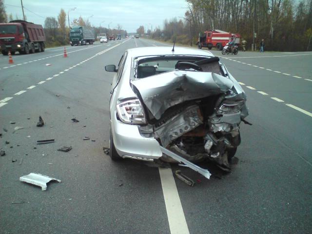 Два человека пострадали в результате ДТП в Ярославской области