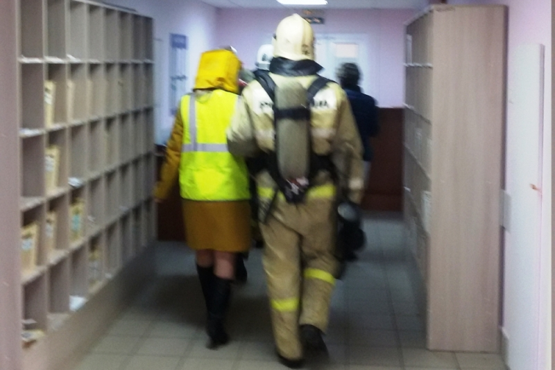 В Ярославле эвакуировали пациентов и сотрудников поликлиники