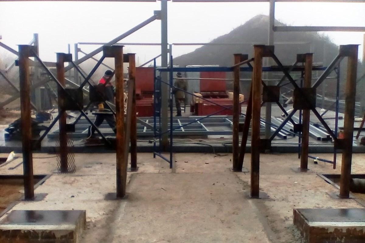 В Ярославской области продолжается строительство новой угольной котельной