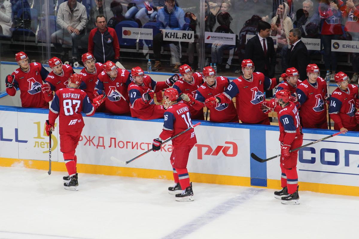 «Локомотив» обыграл дома «Адмирал», выиграв в шестой раз подряд
