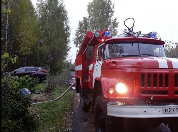 В Ярославской области сгорела «Тойота Камри»