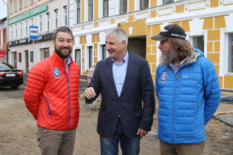 В Рыбинск приехал известный путешественник Федор Конюхов