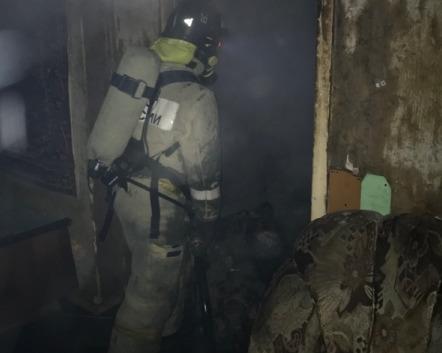 В Рыбинске на пожаре погиб мужчина