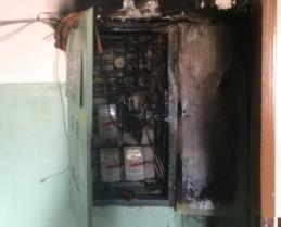В Ярославле в результате пожара в жилом доме пострадали люди