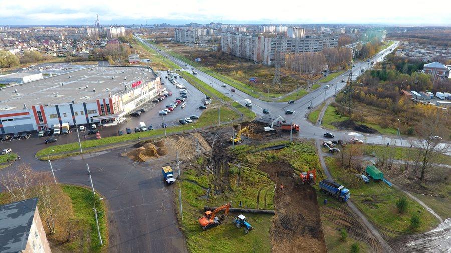Ограничение транспорта на улице Расторгуева в Рыбинске продлится до конца недели