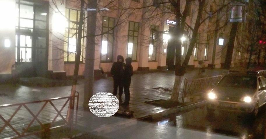 В центре Ярославля на улице нашли тело мужчины