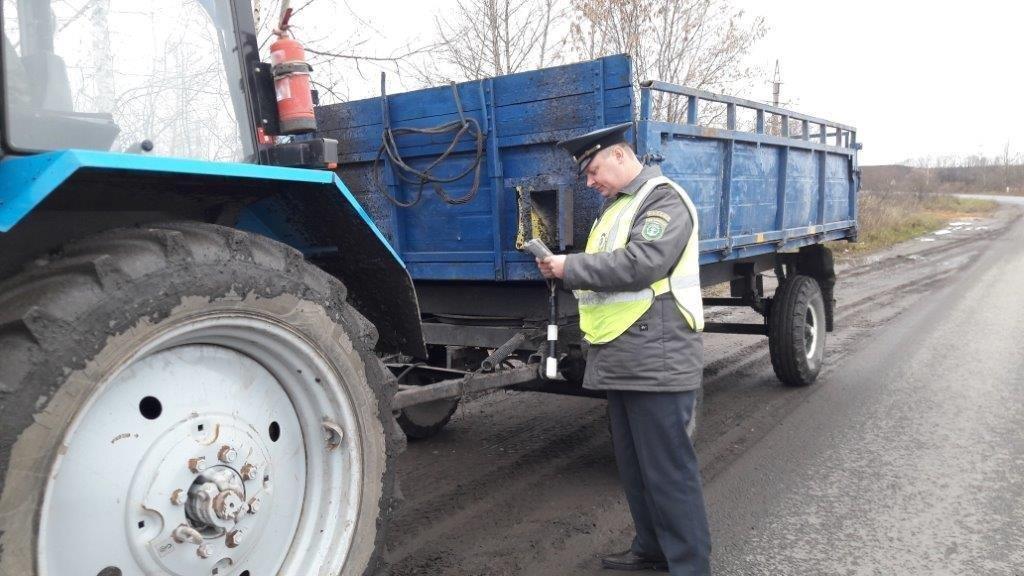 Выявлено 5 нарушений правил эксплуатации самоходных транспортных средств
