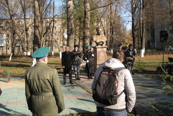 В Ярославле открыли памятник Вадиму Матросову