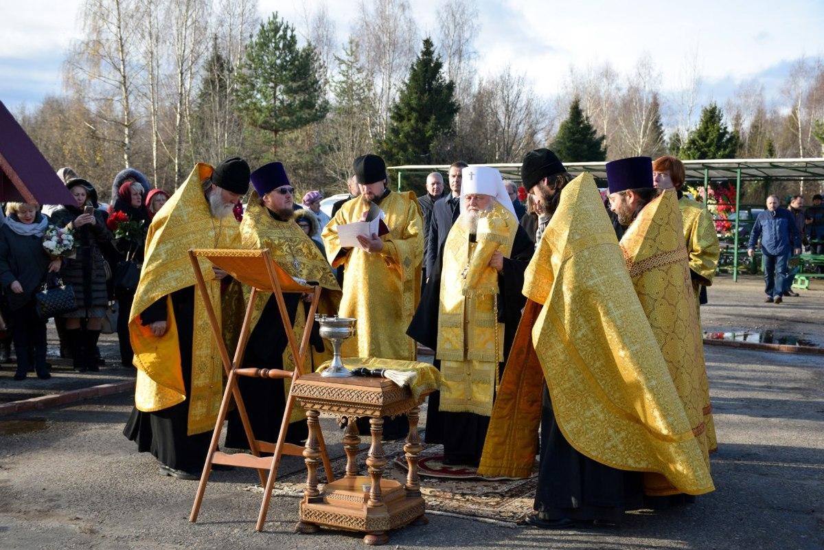 В Ярославле освятили место для строительства нового храма