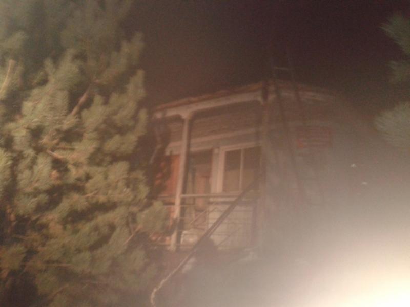 В Рыбинске горел деревянный дебаркадер