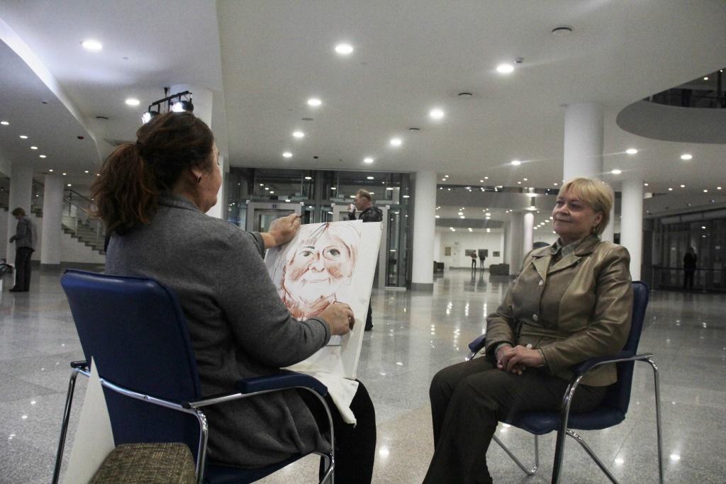 Ярославский пленэрный центр отметил четырехлетие своего основания большой выставкой