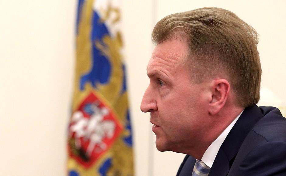 В регион прибыл председатель Внешэкономбанка Игорь Шувалов