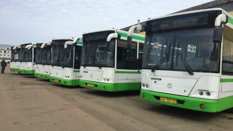 Автобус повышенной вместимости вышел на рейс в Рыбинске