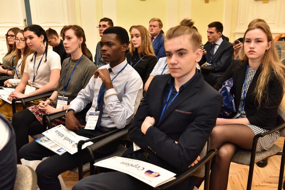 В Ярославле состоялось торжественное открытие Международной молодежной модели ООН
