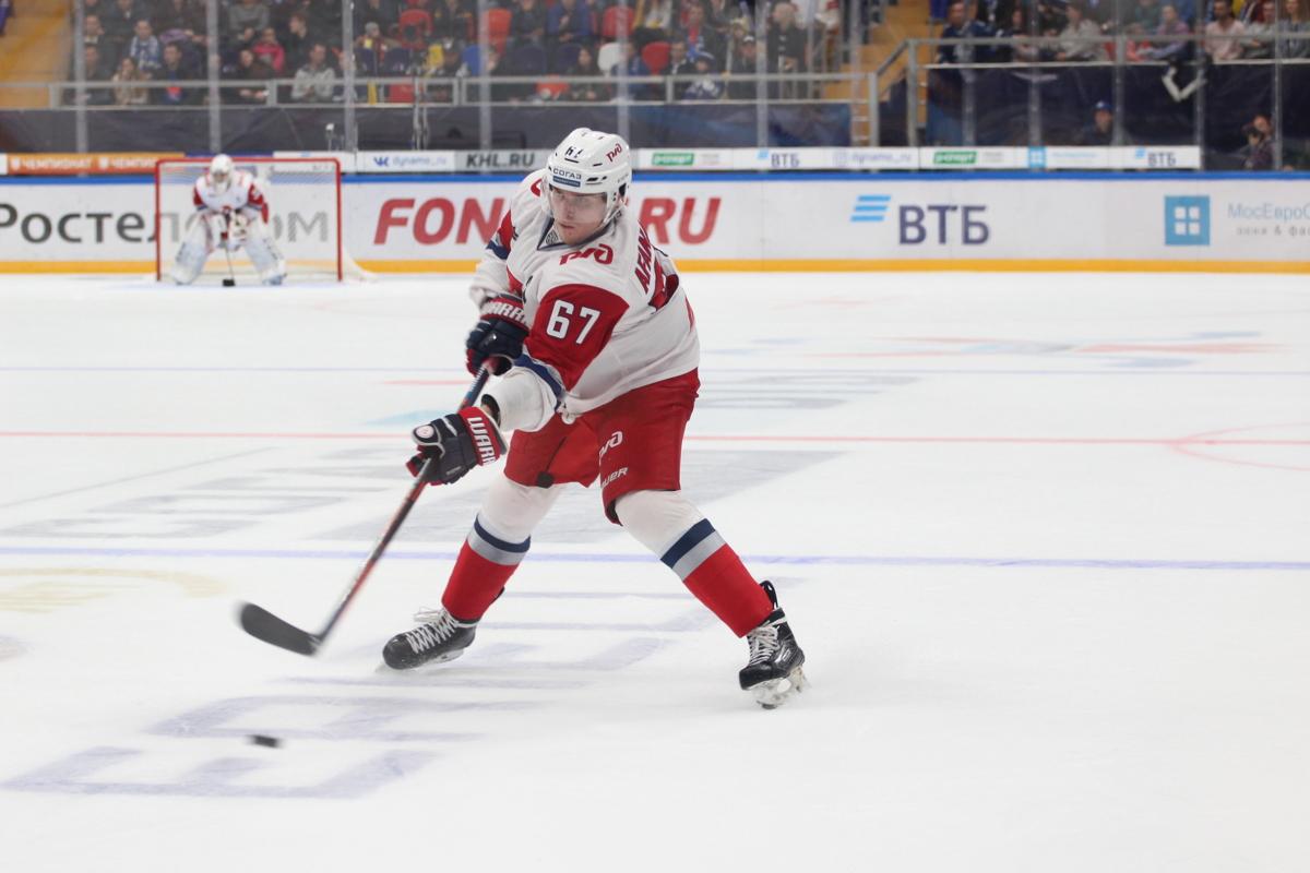 Защитник «Локомотива» Афанасьев стал лучшим новичком недели в КХЛ