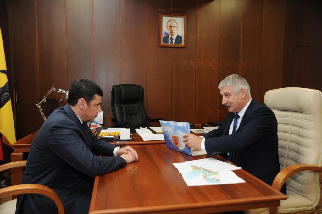 Глава Рыбинска доложил губернатору о ремонте дорог в городе