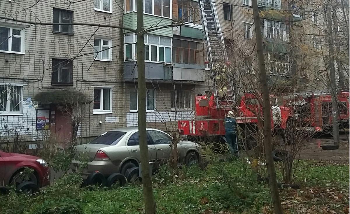 В Ярославле в пожаре пострадали двое пенсионеров