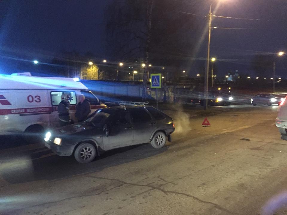 В Рыбинске под колеса «девятки» попал пешеход
