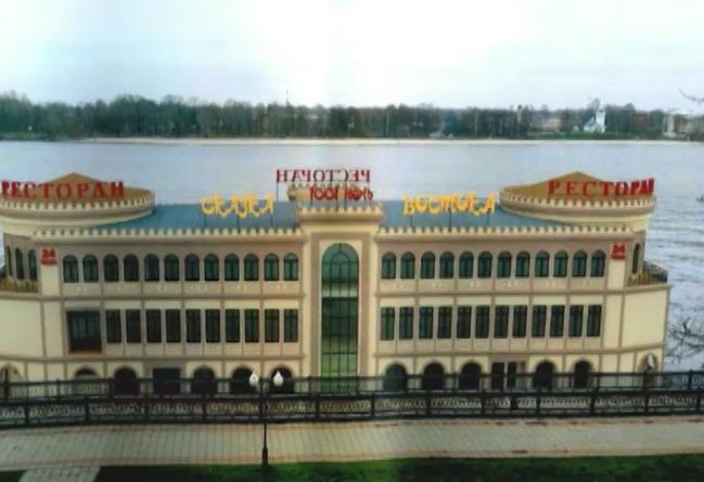 В Ярославле весной появится плавучий ресторан