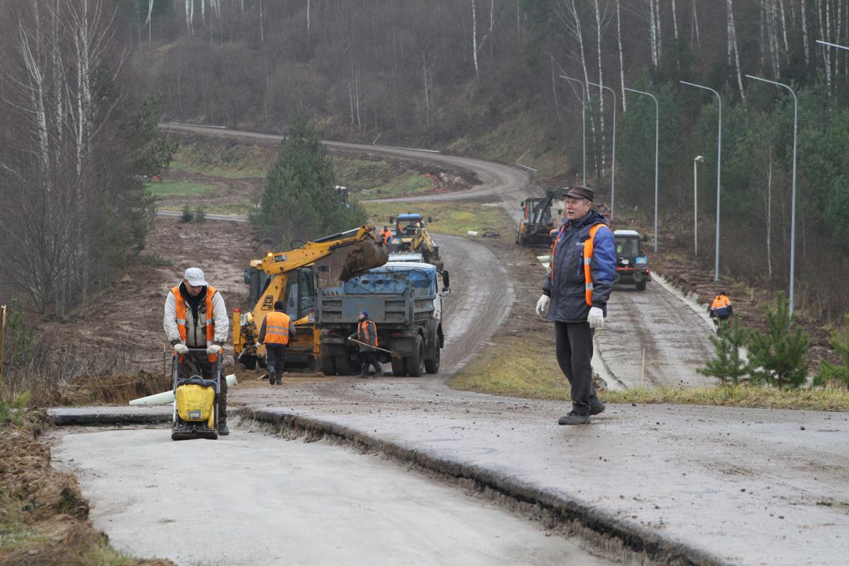Под Рыбинском завершается строительство биатлонного комплекса: фото