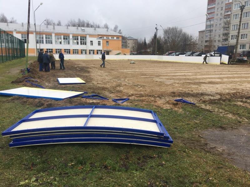 К зиме в Рыбинске зальют 30 ледовых площадок