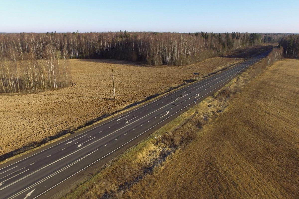 Завершен ремонт трех участков трассы Ярославль – Иваново