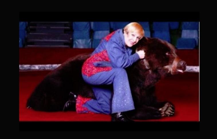 В Ярославле скончалась знаменитая дрессировщица медведей