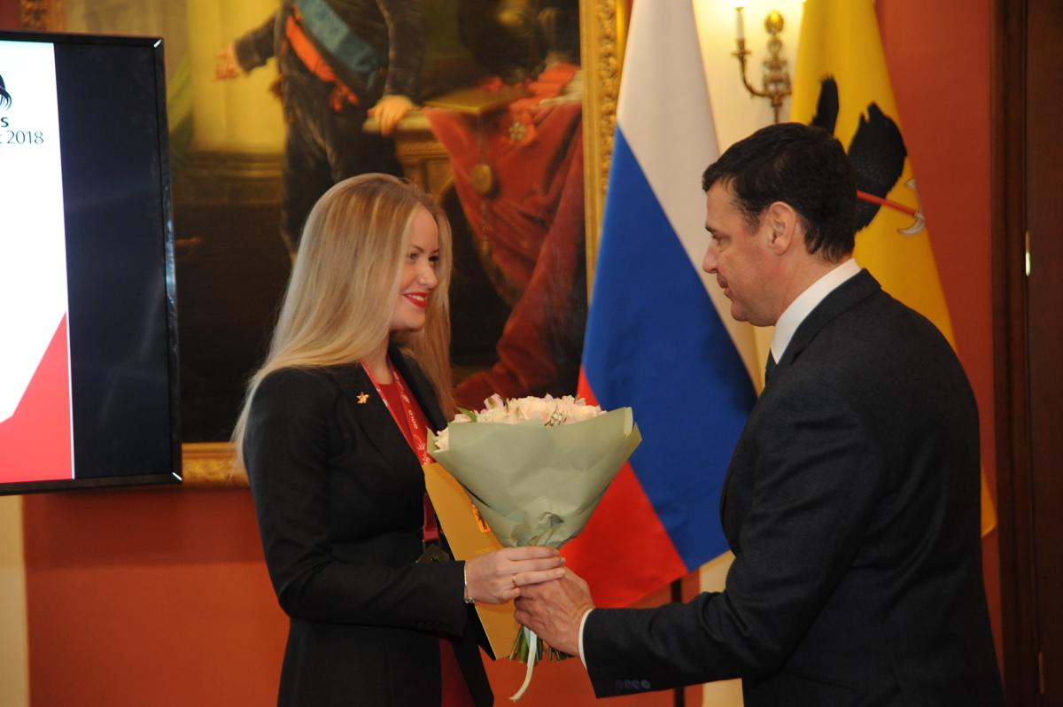 Глава региона вручил награды ярославским призерам конкурсов профессионального мастерства серии «WorldSkills»